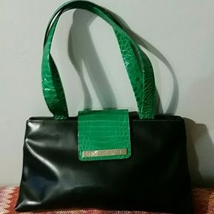 Bvlgari  Crocodile Accent handbag